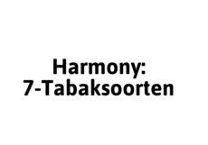 Harmony 7-Tabaksoorten
