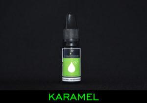 huismerk e-liquid karamel