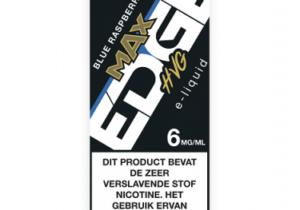 MAX Edge BlueRaspberry e-sigaret liquid