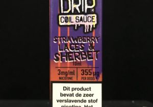 Double Drip-Strawberry laces & Sherbe