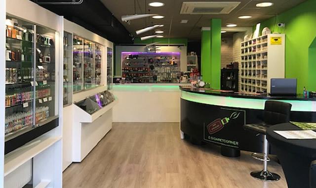 e-sigaretcorner winkel voor esigaretten en eliquids