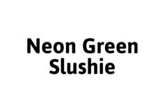 Element Neon Green Slushie Salt