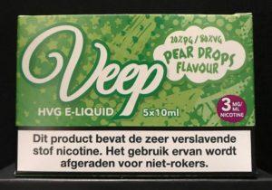 Veep HVG E-Liquid 5 x 10ml - Pear Drops