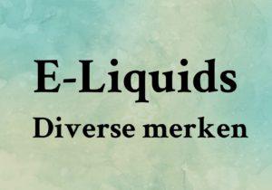 E-liquids 10ml