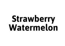 Spacemist Strawberry Watermelon